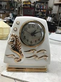 Deco Clock ~ Works $40.00