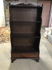 Handmade antique bookshelf