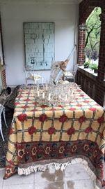 Carpet & chandelier both for sale