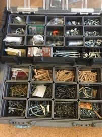 WWW011 Toolbox Full of Nuts and Bolts