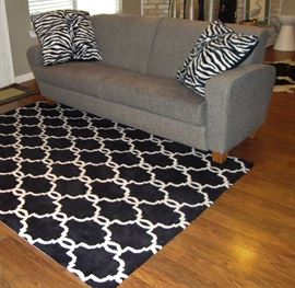 LA-Z-BOY SOFA and LARGE AREA RUG