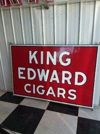 King Edward Cigars sign