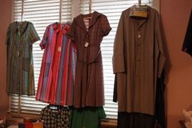 Only of few of the vintage clothing items