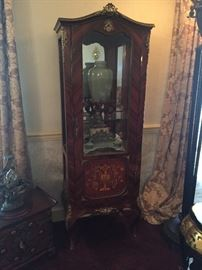 French Revival style curio
