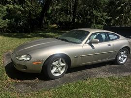1997 Jaguar XK8 Coupe 2door