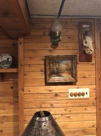 wall art warthog skull?