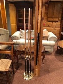 Cue Sticks with Stand