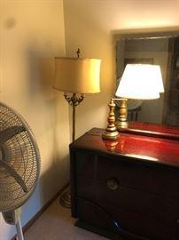 antique floor lamp floor fan