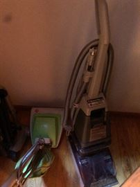 shampooer and vacuum