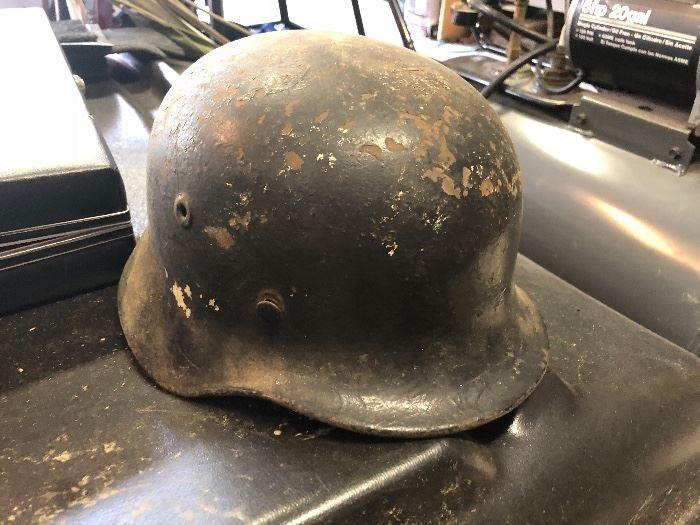 military war helmets