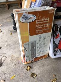 oil radiator heater