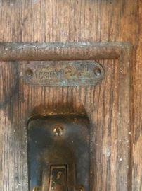 antique oak telephone  mechanics?