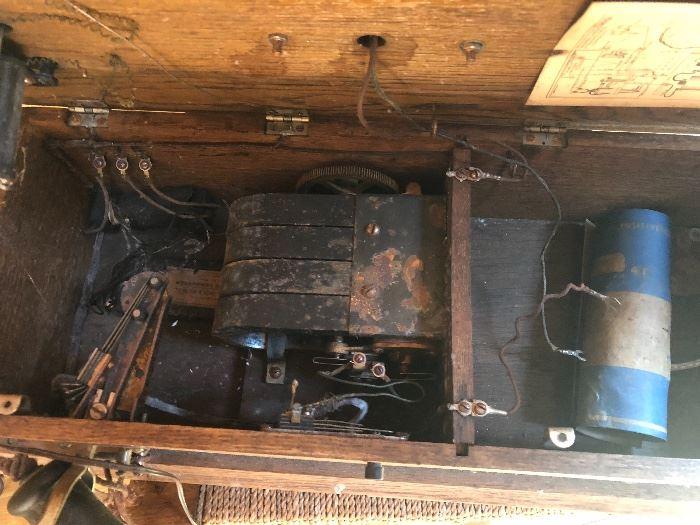 inside of the oak phone