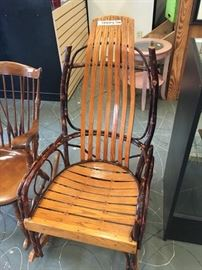 Handmade Amish Rocking Chair