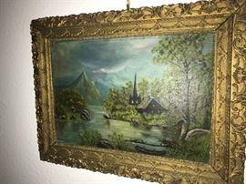 original piece, not signed