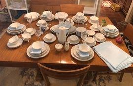 "Hutschenreuther ""Exzellenze"" Germany porcelain china set."