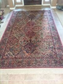 5' X 12' Brand New Imported Antique Persian Rug worth $12,435. Price includes delivery and set up. HIGHEST phone BID takes it. BEST bid so far is $ 515.