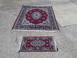 6' X 8' Brand New Imported Antique Persian Rug with small matching rug worth $5,679. Price includes delivery and set up. HIGHEST phone BID takes it. BEST bid so far is $603.