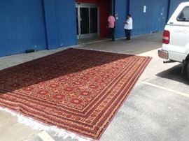 25' X 25' Brand New Imported Antique Persian Rug worth $26,595. Price includes delivery and set up. HIGHEST phone BID takes it. BEST bid so far is $3,000. You can BID on the whole storage unit for one low price and sell it all later for a BIG profit!!! 713-249-4777