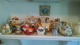 CUTE....... TEA POT COLLECTION