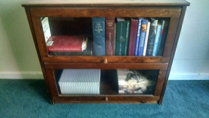 ***ANTIQUE**** 2-TIER LAWYERS CABINET