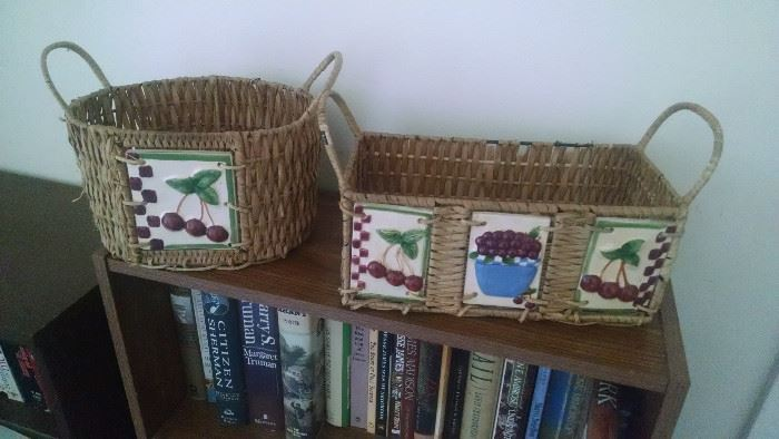 COUNTRY *CHERRIES* BASKETS