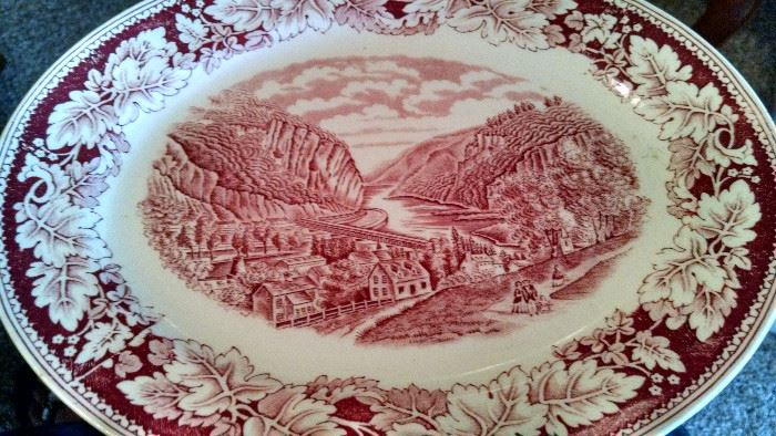 CURRIER & IVES / HOMER LAUGHLIN CHINA