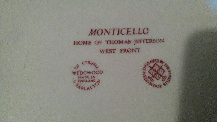 CLOSE-UP..WEDGWOOD MONTICELLO
