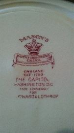 MASON'S ...MADE IN ENGLAND