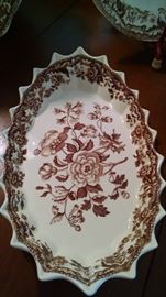 SPODE'S...SCALLOPED SERVING DISH