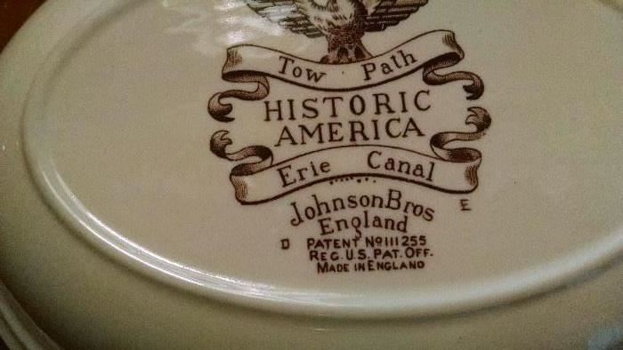 CLOSE-UP....JOHNSON BROS.  ERIE CANAL