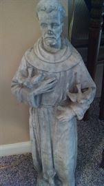 CONCRETE ST. FRANCIS STATUE