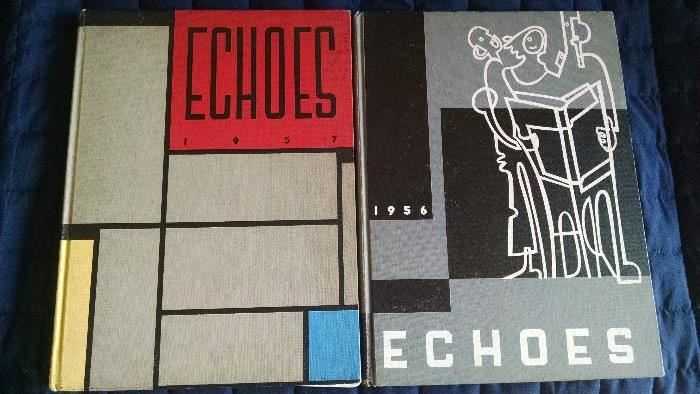 VINTAGE 1950'S ECHOES YEAR BOOK