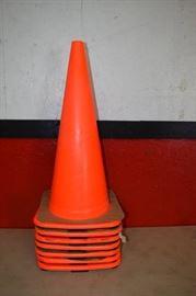 7 Traffic Cones