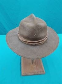 Antique WWI Campaign Hat
