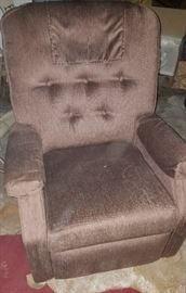 Taupe lift chair