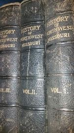 1915 History of Northwest Missouri Vol. 1-3
