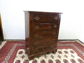Vintage Sears Open Hearth Colonial Wood Dresser