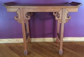20th Century Chinese Altar Table