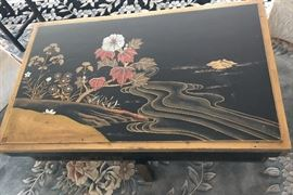 Chest on Base.  20th Century Chinese Artisan Made and  Signed