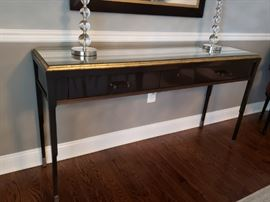 Very difficult to find these pcs at this price! Elegant Baker Console from the Bill Sofield Collection.  Asking $3000 (negotiable)