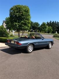 1989 Alpha Romeo Spider Veloce, Very Good Condition, No Rust, No Engine Issues, 34,800 miles! $8000!