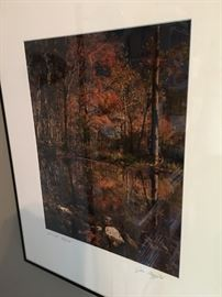 "Framed print by Jim Mayfield, ""Autumn Mirror."