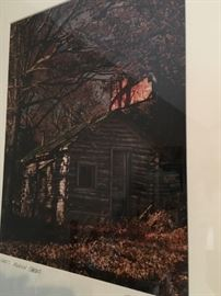 "Framed print by Jim Mayfield, ""John's modern cabins"""