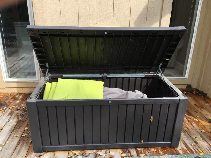Large patio storage bin!