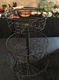 3 tier basket...so handy!