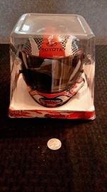 Toyota Racing 1:3 scale replica helmet, new in box.