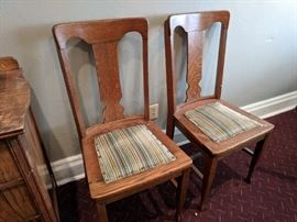 Antique chairs (several available)