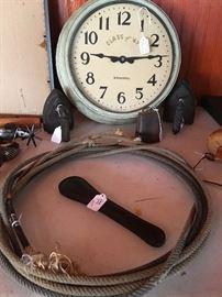 Vintage International clock