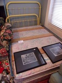 Iron full size bed